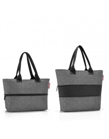 SHOPPER e1 twist silver, taška Reisenthel