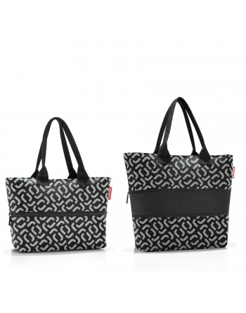 SHOPPER e1 signature black, taška Reisenthel
