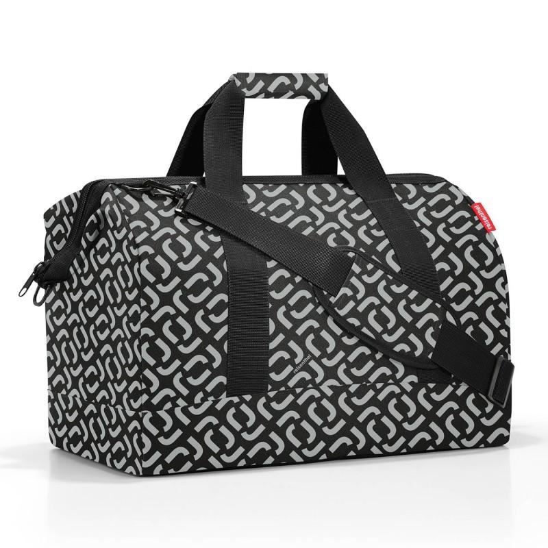 ALLROUNDER L signature black, cestovní taška reisenthel