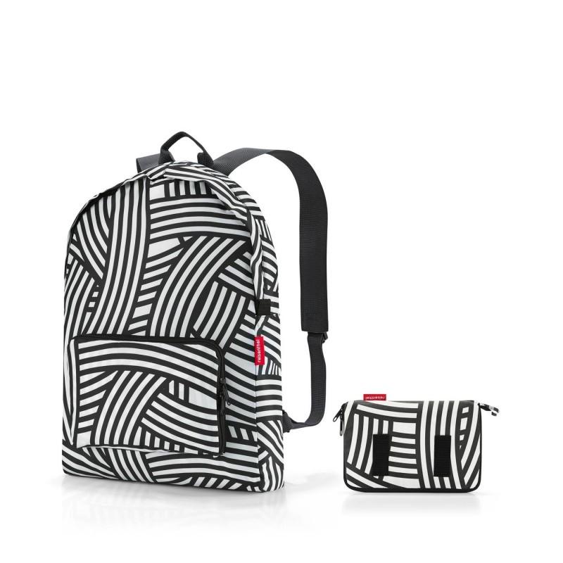 skládací batoh Mini Maxi Rucksack ZEBRA