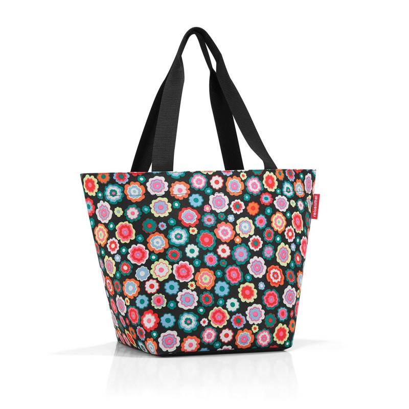 SHOPPER M happy flowers, Reisenthel, nákupní taška