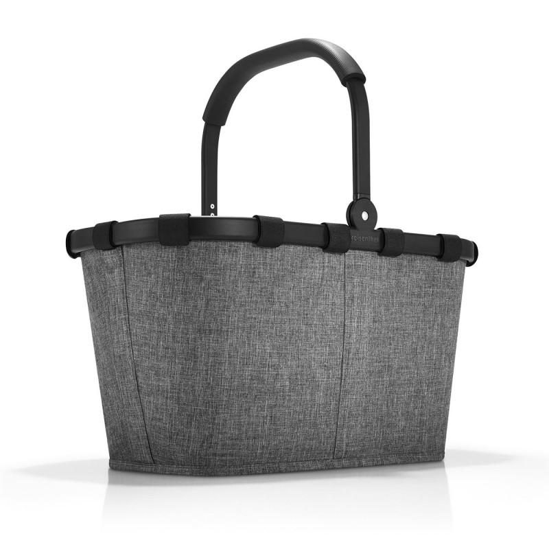 Carrybag frame twist silver, Koš Reisenthel
