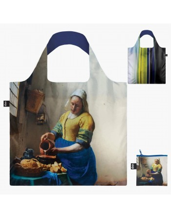 J.VERMEER: The Milkmaid Bag, 1658-60 & IRMA BOOM DNA 19, taška LOQI Museum Collection